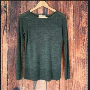 Ellen Tracy 100% Extra Fine Merino Wool Sweater L